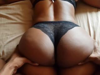Butt that squats a lot ass...