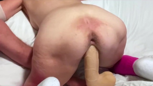 60 Year Old Wife Attempts 12 inch Dildo For The First Time