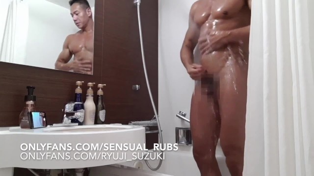 Nude asian boys gay pictures - Japanese pornstar ryuji comes over for erotic massage and edged to cum