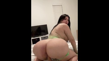 Brother Watches Big Ass 18yo Sister Fuck A Dildo In Slow Motion
