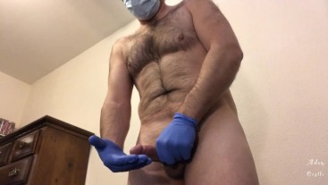 Male Nurse Has The Cure 4 You: Eat His Cum CEI