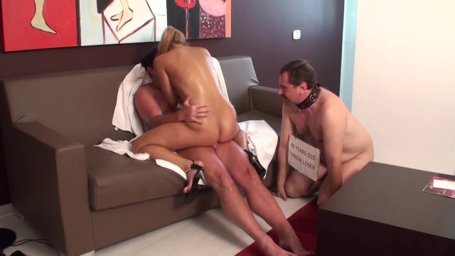 Sweet ass bitch - Femdom bitches love to fuck in front of cuckolds