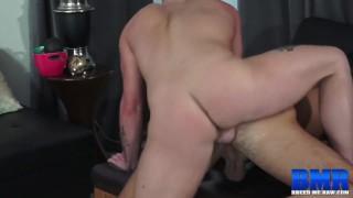 BREEDMERAW Inked Zachery Rhys Eats Ass Before Fucking It