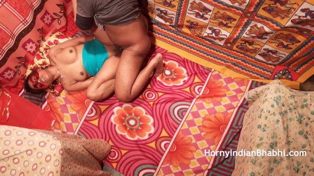 Indian Bhabhi Craves Cum Before He Leaves for College 15