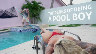 BANGBROS – Lucky Pool Boy Tony Rubino Fucks Cougar Ryan Conner