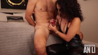 Dominatrix An Li CBT chastity