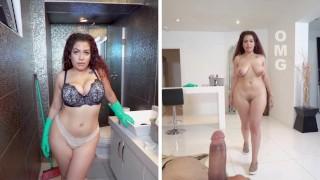 BANGBROS – Curvy Latina Maid Samantha Rose Fucks Her Client