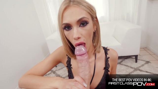 Slim Beauty Sky Pierce Face Fuck and Pussy Pounding POV 1