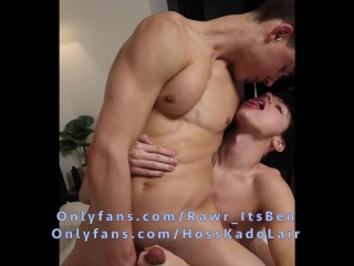 18 yo twink kissing dick spitting in my...