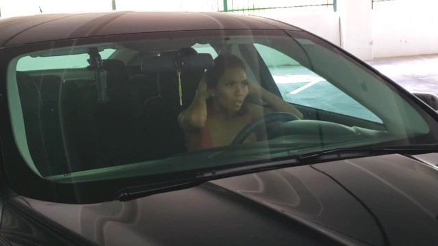 Sexy Asian Girl Masturbates In Her Car After Work 30