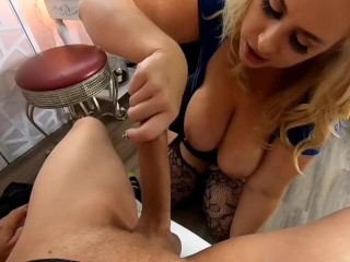 Blond loves cock...