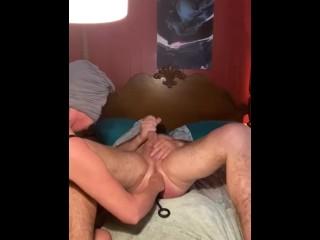 Huge in his ass shot...
