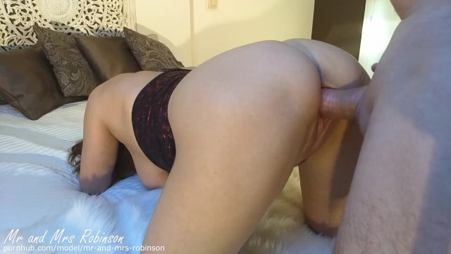 Mrs robinson suck - Gorgeous 54-year-old milf gets creampie after sucking and fucking