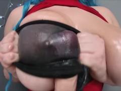 Black Stockings Titjob