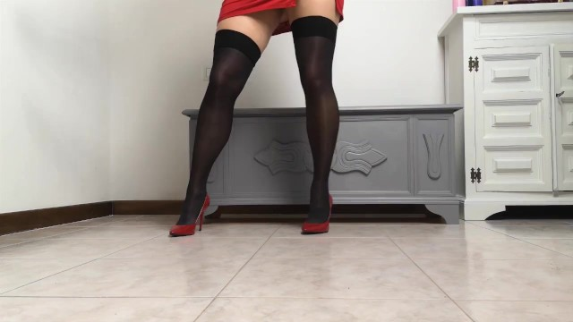 Black Stockings Titjob 14