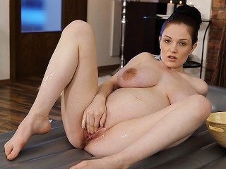 my preggo stepsister first time on video