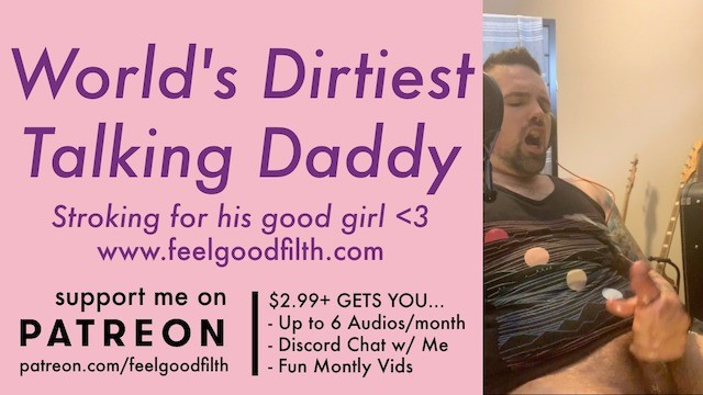 Male female masturbation Filthy big cock daddy tells you how he owns your pussy ddlg dirty talk