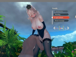 Ep 5 bowsette cosplay fucking beach...
