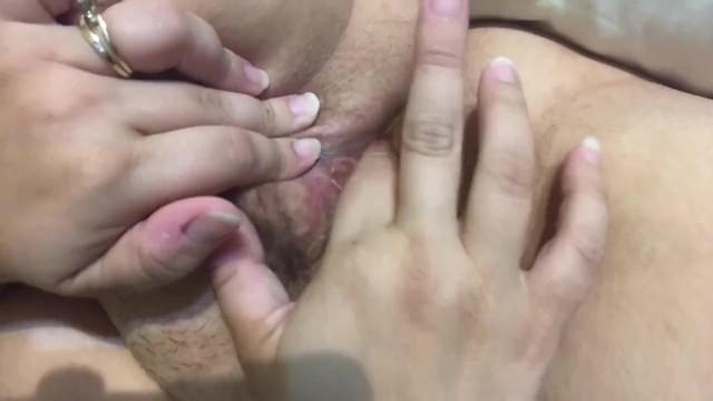 Wife enjoying herself 16