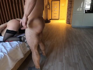 Abused SEX SLAVE whereas lover at work. BDSM, Anus, Spanking, Facefuck