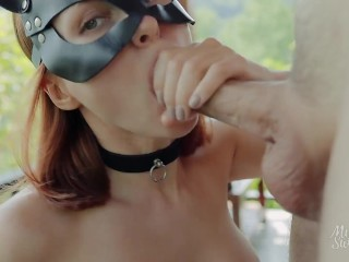 My WHORE was SO THIRSTY she ASKED TO PEE AND CUM INTO HER MOUTH