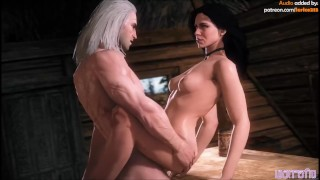 The Witcher. Best porn! Gerald and triss. Compilation! Ведьмак. Трисс
