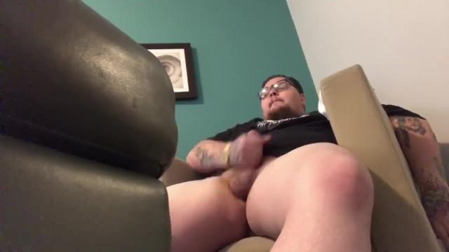 Mature guys jacking off - Fat guy jacking off to mia khalifa