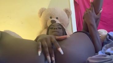 Kokokonako's oiled up pussy and ass pt.2