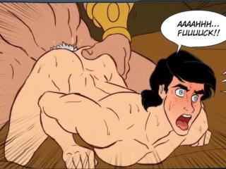 Hentai comic dibujo gay animado parte 1...