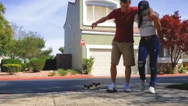 Skater Boy Fucks Little Asian Neighbor
