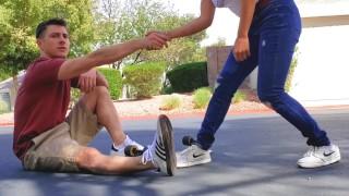 Skater Boy Fucks Little Asian Neighbor - Jada Kai
