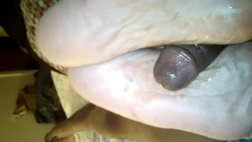 Dry soles and hard dick *1