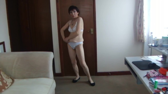 Sexy hot g string - Sexy hot transparent see through white underwear g-string thong dance nude