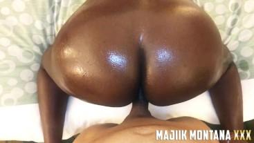 Jamaica Bandz Extracts The Cure For CoronaVirus From Majiik Montana's Cock