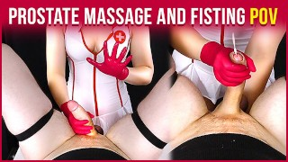 Prostate Massage with Handjob and Fisting from Your Nurse | Era