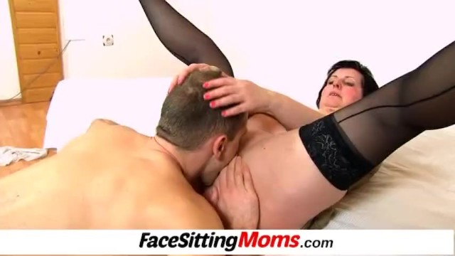 Porn granny media - Licking 50 years old pussy featuring stockings lady tanya