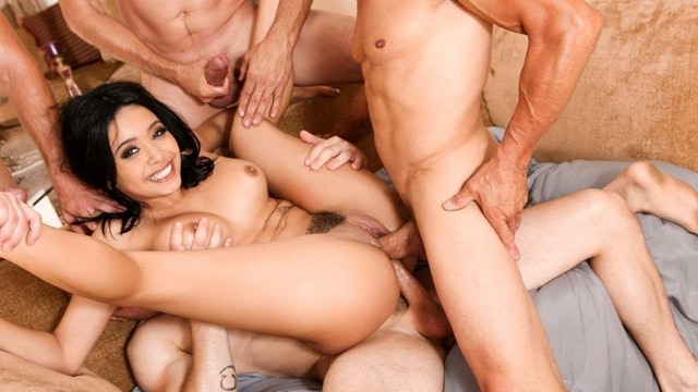 Filthy redheads - Devils gangbangs aaliyah hadid rough dp crazy fuck - full scene