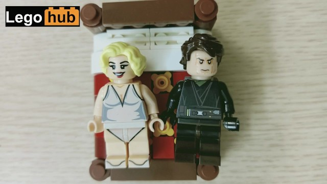 Adult funny joke dirty vid clip - A lego dirty joke: a sister and her brother