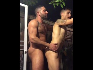 Persian boy gets a lesson from me...