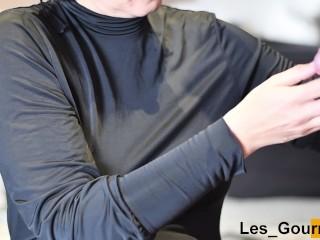 4K Milf Sucks In Black Dress And Gets Cum On Face