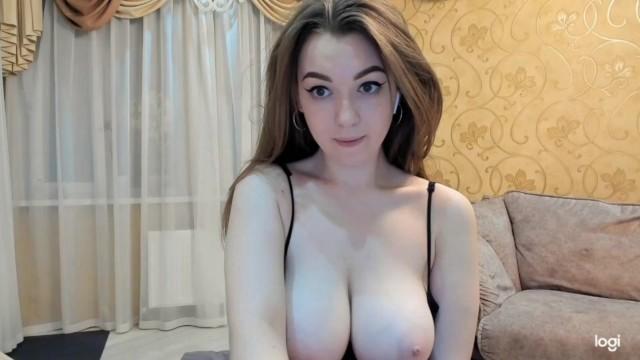 Natural girls ass - Busty perfect cute girl - big natural pale tits vaya tetas