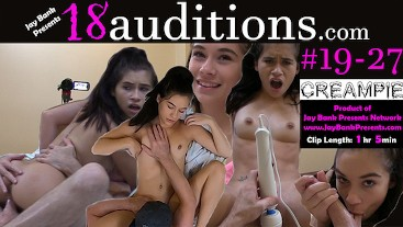 #19-27 Young Arab Teen Amateur Creampie 18auditions x Jay Bank Presents