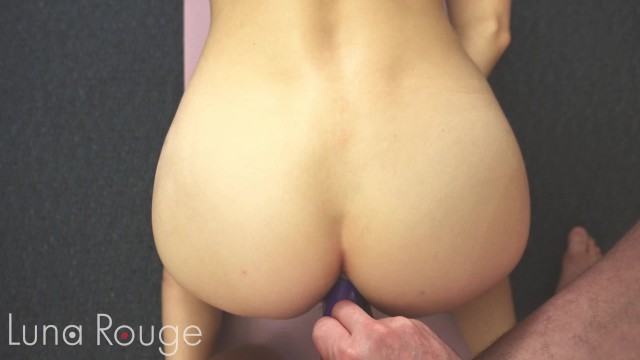 YOGA Teen Needs DOUBLE PENETRATION for STRETCHING Her HOLES 13