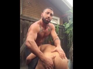 Persian daddy sharok fucks neighbor boy...