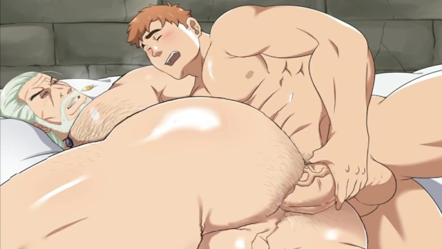 Black gay gangbang - The witcher hairy hole eating dick animated cartoon