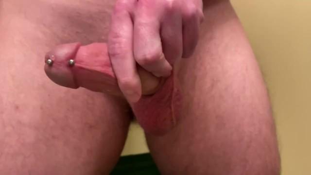 Penis piercing video