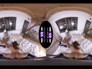 TmwVRnet – Alyssa Reece & Melody Petite – Lesbian fun gets ruined