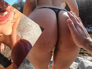 Lola Thief 4K Sex & Facial In A Sunny Day At The River
