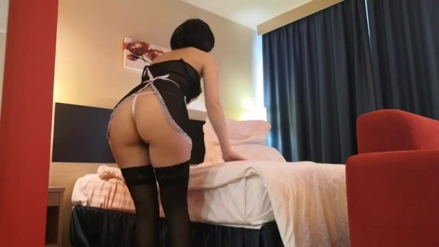 Porn old fucking young - Slutty maid has been fucked in my hotel room