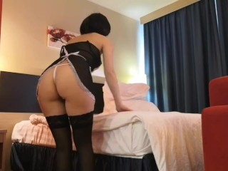 Slutty Maid Has Been Fucked In My Hotel Room